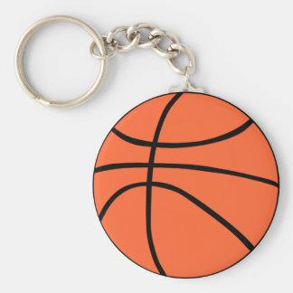 Basketball Standard Runder Schlüsselanhänger