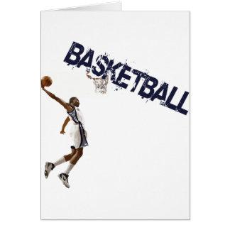Basketball tauchen ein karte