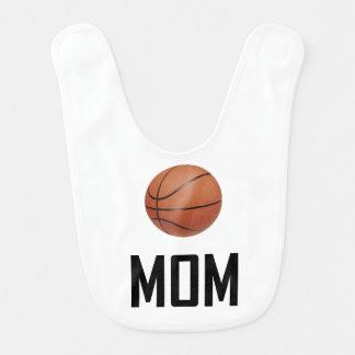 Basketball trägt Mamma zur Schau Babylätzchen