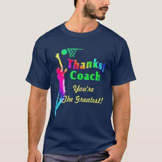 Basketball-Trainer danken Ihnen Band-Shirt T-Shirt