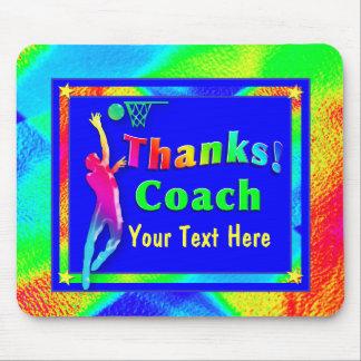 Basketball-Trainer danken Ihnen Mousepad