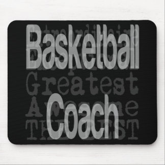 Basketball-Trainer Extraordinaire Mousepad