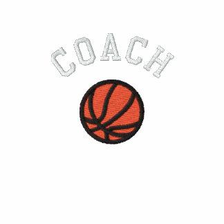Basketball-Trainer - kundengerecht Besticktes Poloshirt