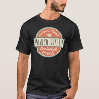 Basketball-Trainer-Vintages Geschenk T-Shirt