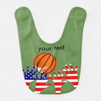 Basketball USA Babylätzchen