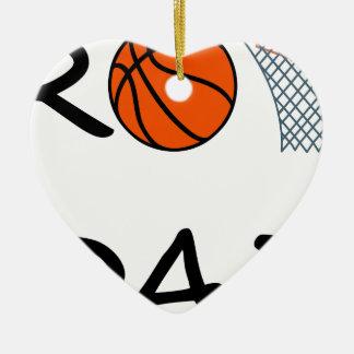 Basketball VATI Keramik Ornament