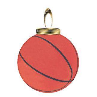 Basketball-Verzierung Fotoskulptur Ornament