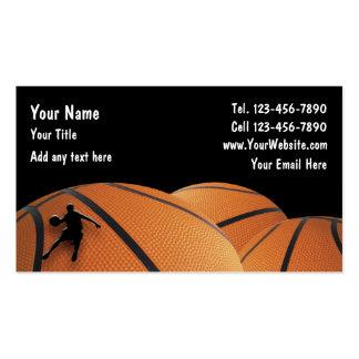 Basketball-Visitenkarten