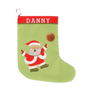 Basketball Weihnachten Großer Weihnachtsstrumpf