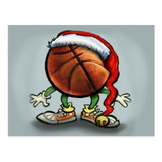 Basketball-Weihnachten Postkarten