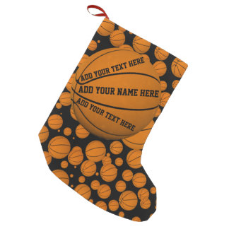 Basketbälle Kleiner Weihnachtsstrumpf