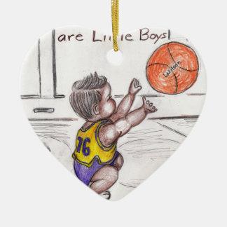 Basketballer Keramik Ornament
