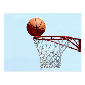 Basketballerwartung Postkarte