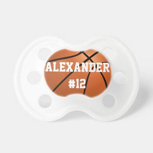 Basketballjuniorvarsity-Schnuller Baby Schnuller