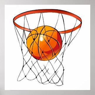Basketballkorb Poster