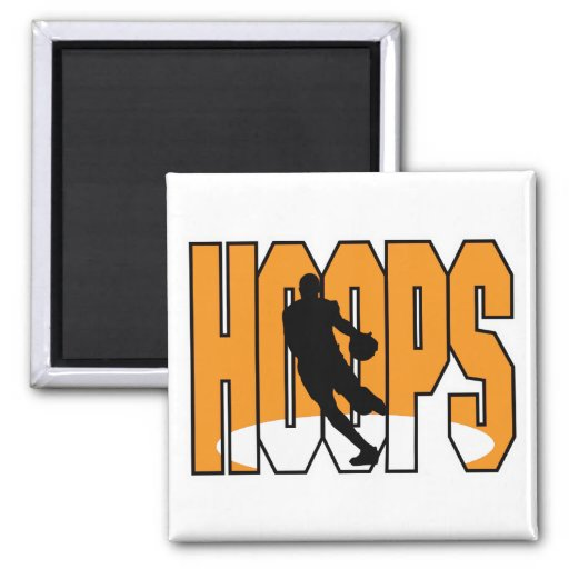 Basketballkorbentwurf Kühlschrankmagnete