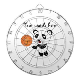 Basketballpanda Dartscheiben