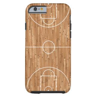 Basketballplatz-Fall-Abdeckung Tough iPhone 6 Hülle