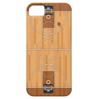 Basketballplatz-Neigungs-Hall-Ball iPhone 5 Hülle