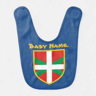 Baskische Flagge Babylätzchen