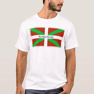 Baskische Flagge mit Euskal Herria Shirt