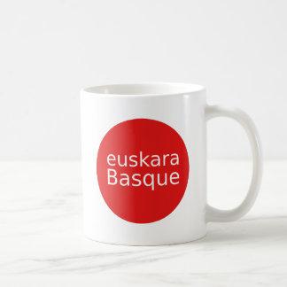 Baskische Sprachentwurf Kaffeetasse