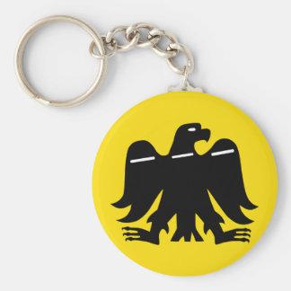 Baskischer nationalistischer Keychain Standard Runder Schlüsselanhänger