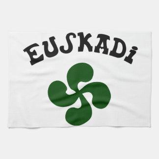 Baskisches Kreuz Euskadi Verte Geschirrtuch