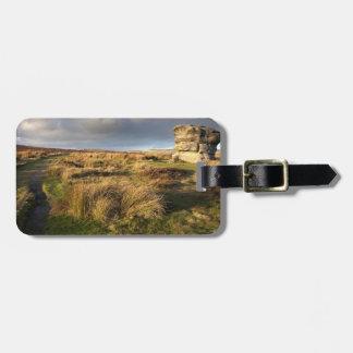 Baslow Rand im Derbyshire-Andenken-Foto Gepäckanhänger