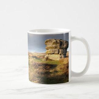 Baslow Rand im Derbyshire-Andenken-Foto Kaffeetasse