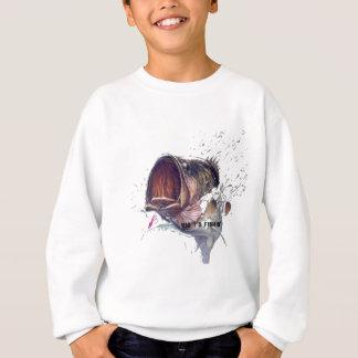 Bass-Bustin durch Sweatshirt