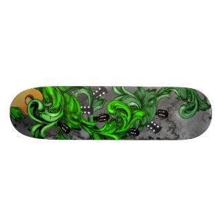 Bass-Esser! (Grün) Skateboard Brett