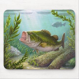 Bass-Fische Mousepads