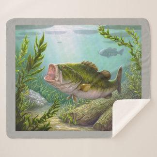 Bass-Fische Sherpadecke