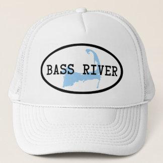 Bass-Fluss-Hut Truckerkappe