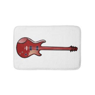 Bass-Gitarre Badematte