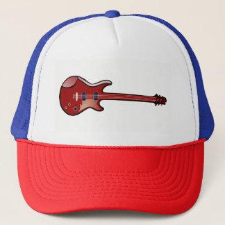 Bass-Gitarre Truckerkappe