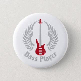 bass guitar runder button 5,1 cm
