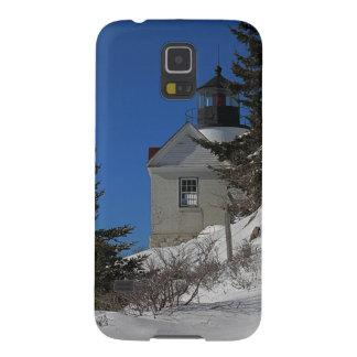 Bass-Hafen-Licht im Winter Galaxy S5 Hülle