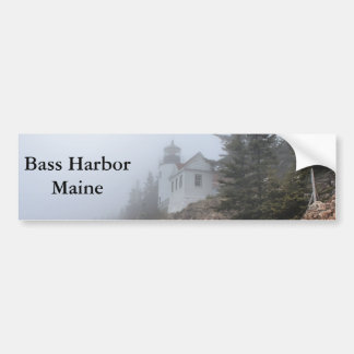 Bass-Hafen, Maine Autoaufkleber