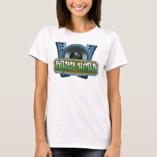 Bass-Kopf - angesagter T - Shirt blaues Grün der