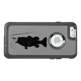 Baß mit großer Öffnung in der Silhouette OtterBox iPhone 6/6s Hülle