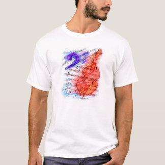 Bass-Schnitt-Blatt - bemannt Shirt