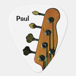 Bass sein plektron