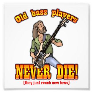 Bass-Spieler Photos