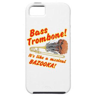 Bass-Trombone-MusicalBazooka Etui Fürs iPhone 5