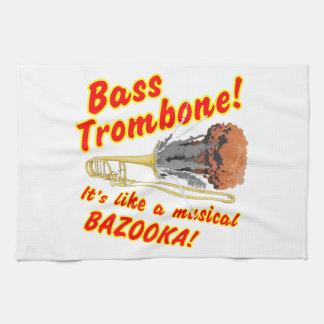 Bass-Trombone-MusicalBazooka Handtuch