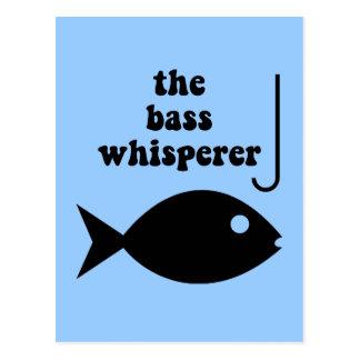 Bass-Whisperer Postkarte