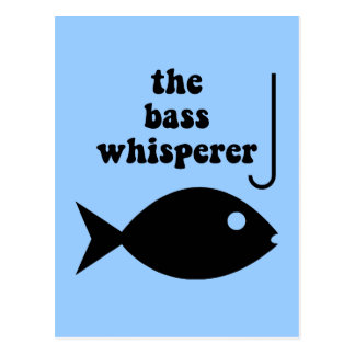 Bass-Whisperer Postkarten