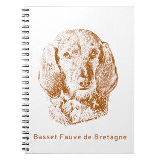 Basset Fauve de Bretagne Notizblock